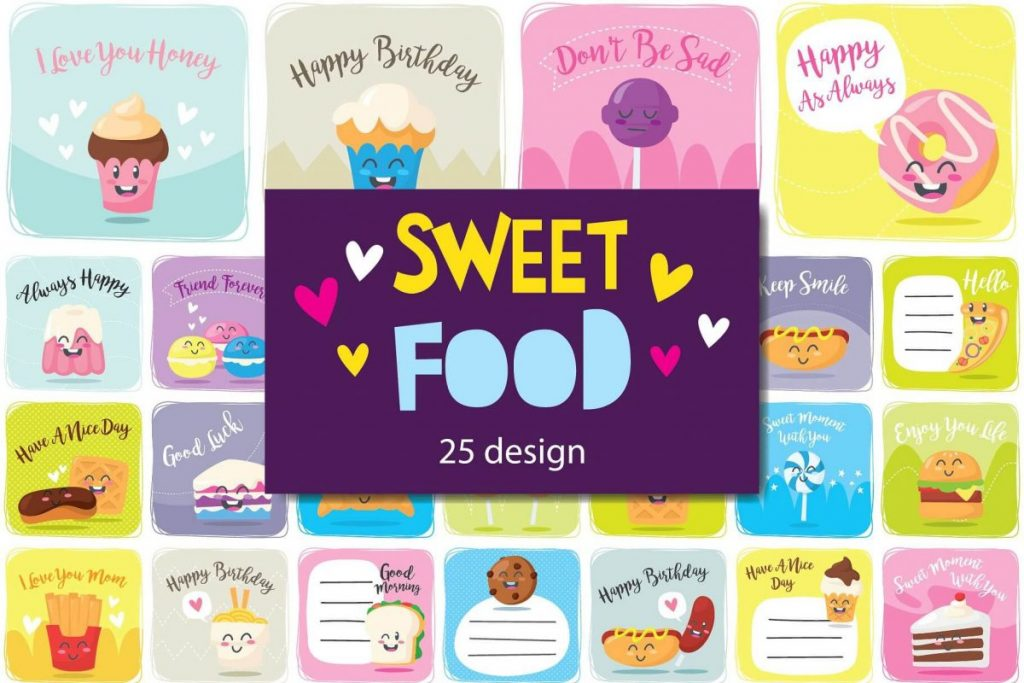 100 in 1 – Birthday Clipart for Children - preview 2
