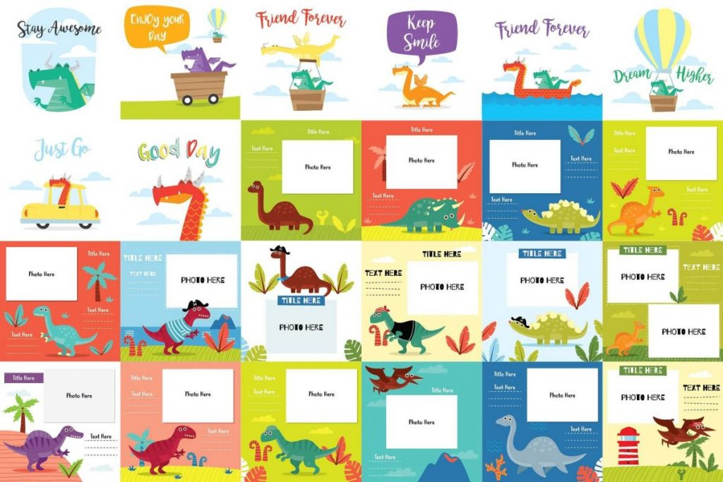 141 Dinosaur Cartoon Clipart Bundle - dinosaur cartoon 2