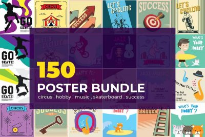150+ Artistic Illustration Poster Template - cover