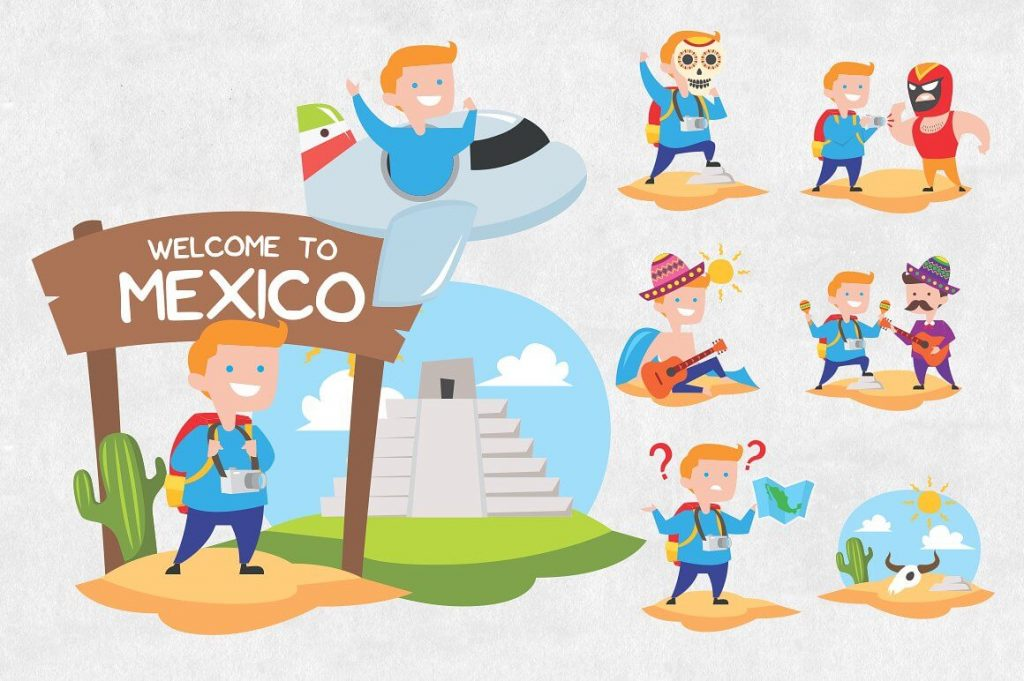 25 Mexican Clipart Bundle - mexican clipart