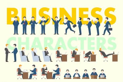 Business People Clipart Collection - cover