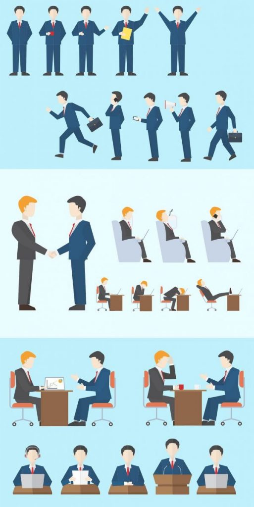 Business People Clipart Collection - preview