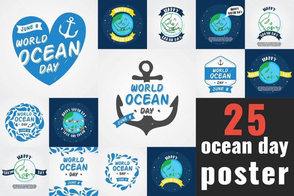 Campaign Posters Template - ocean poster