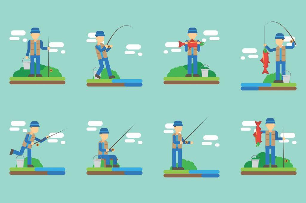 Fishing Clipart Illustration - fish clipart