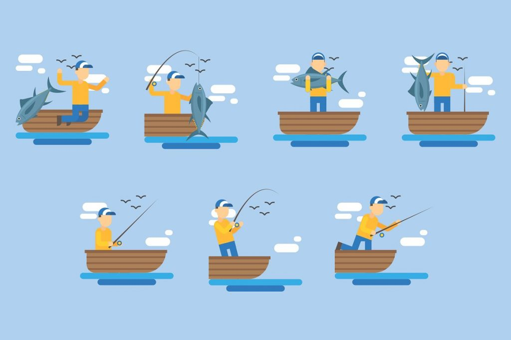 Fishing Clipart Illustration - fish clipart 2