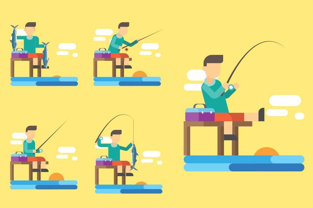 Fishing Clipart Illustration - fish clipart 3