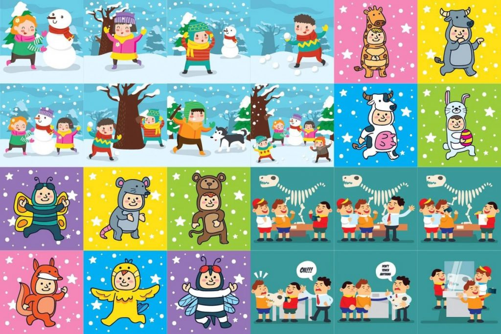 Kids Activities Clipart Bundle - kids activities 2