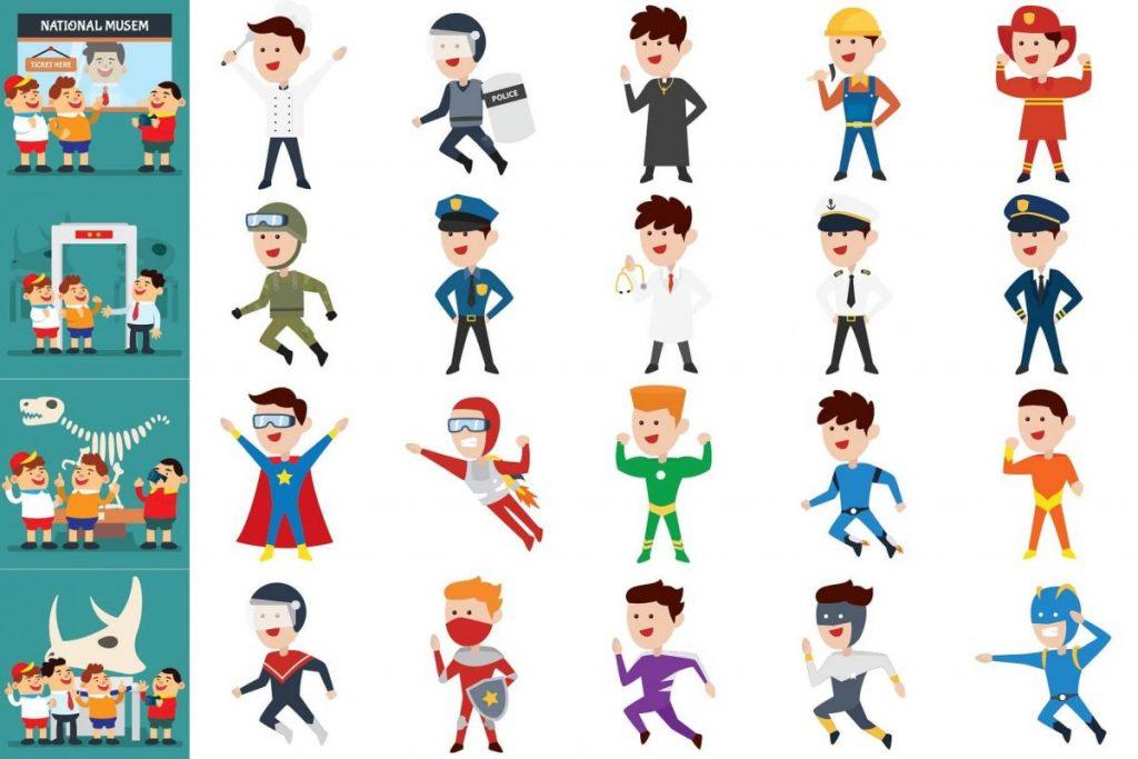 Kids Activities Clipart Bundle - kids clipart
