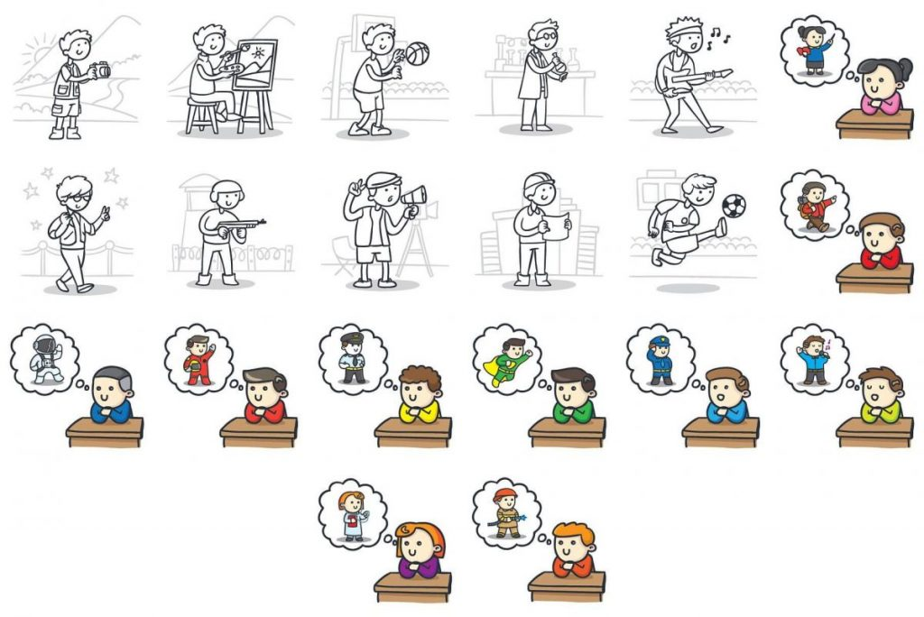 Kids Activities Clipart Bundle - kids clipart 2