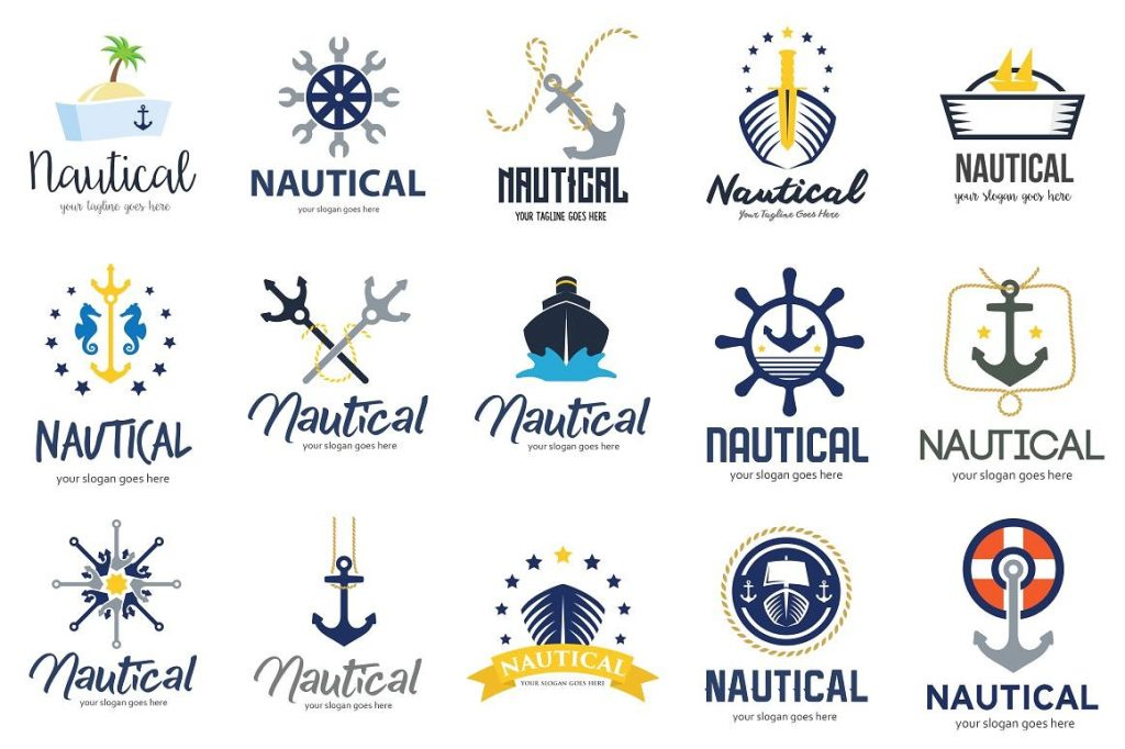 nautical sign logo