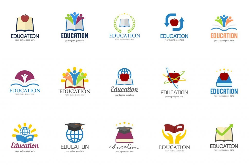 preview school logo templates
