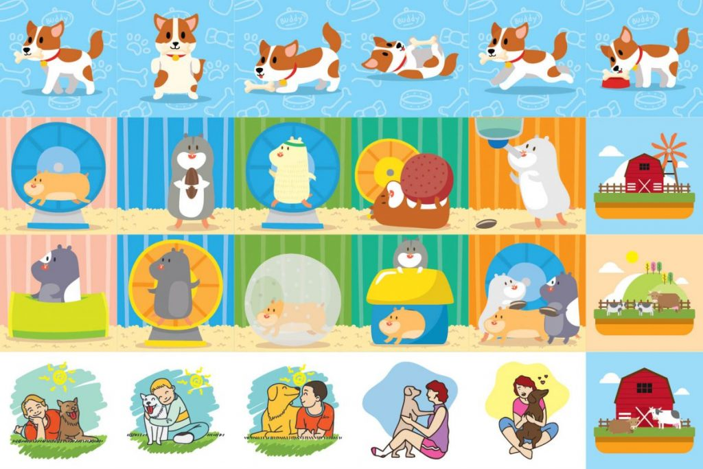125 Animal Clipart Bundle - preview 2