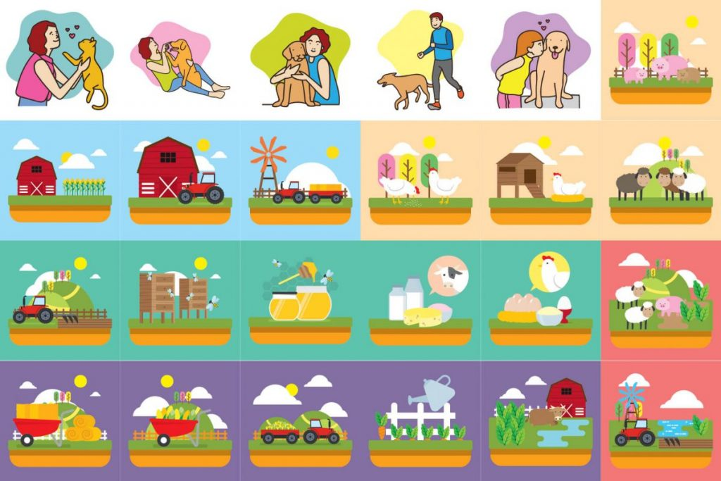 125 Animal Clipart Bundle - preview 3