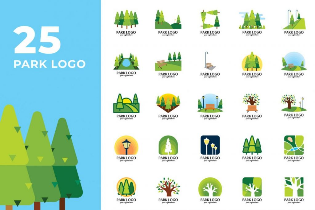 200 Creative Logo Design Collection - National PARK LOGO