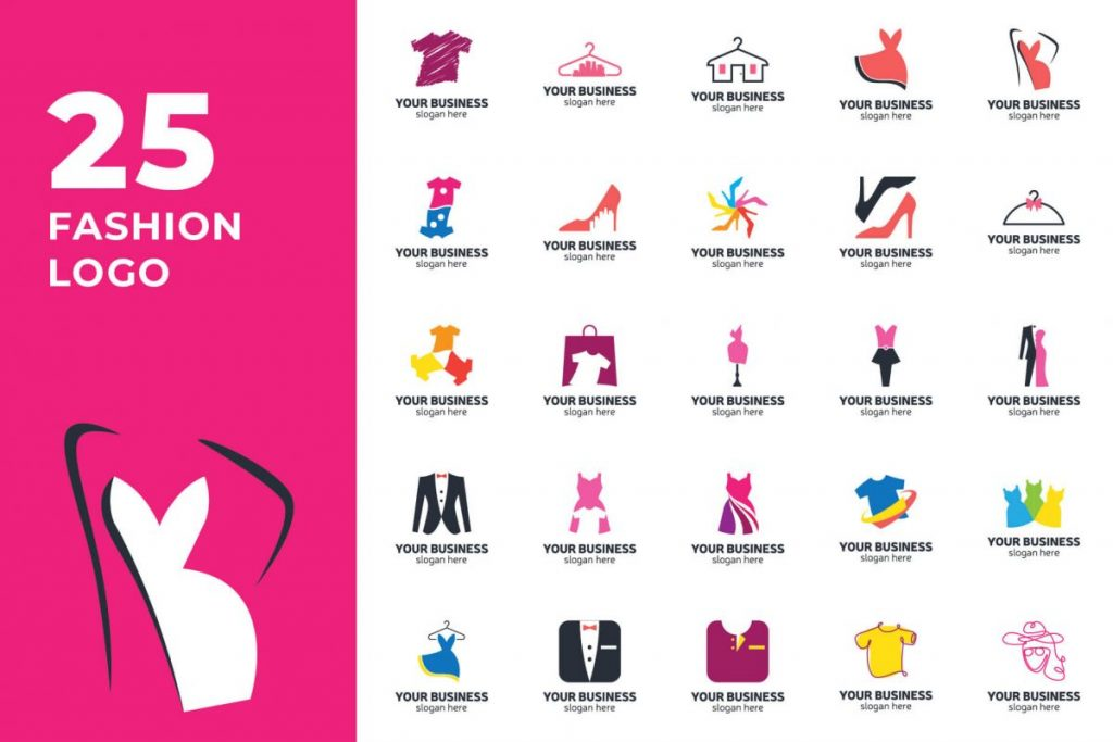 200 Modern Logo Design Collection Pack - FASHION LOGO
