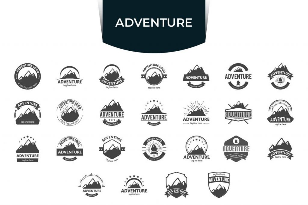 200 Modern & Professional Logo Design - ADVENTURE LOGO
