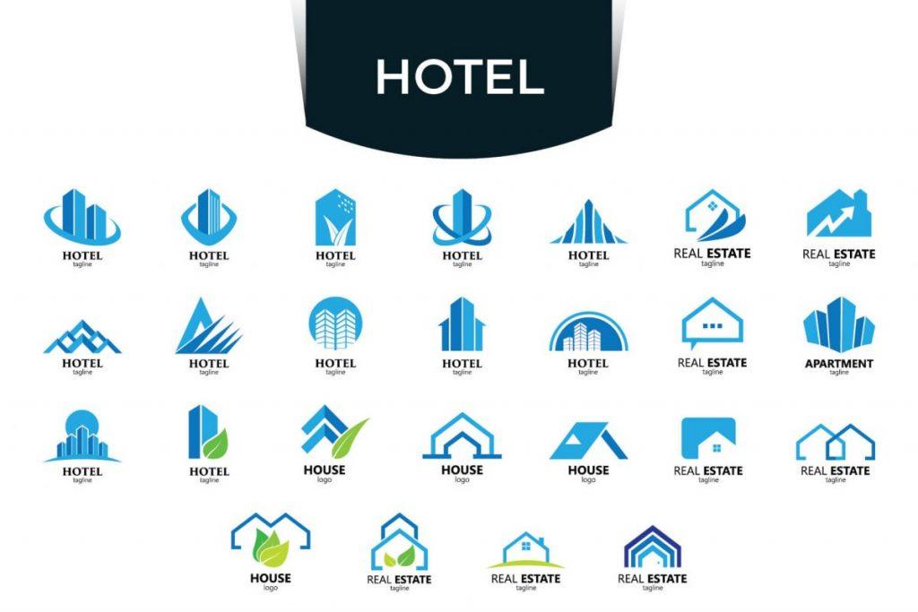 200 Modern & Professional Logo Design - HOTEL LOGO
