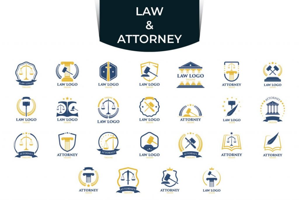 200 Modern & Professional Logo Design - LAW & ATTORNEY LOGO