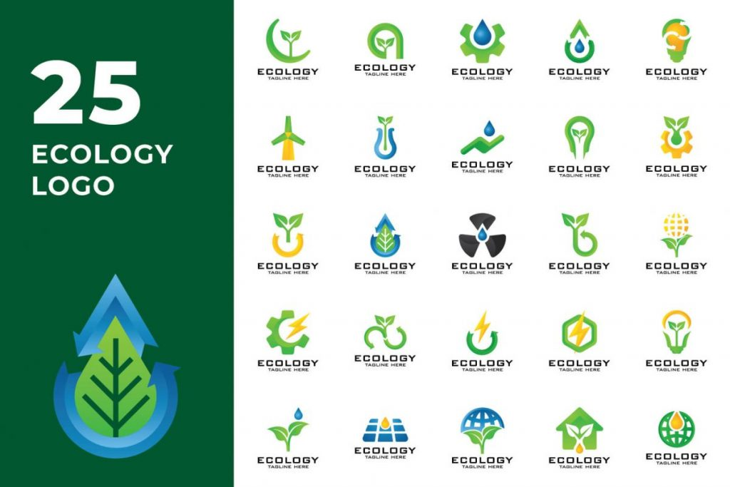 200 Multi-Purpose Logo Design Collection - ECOLOGY LOGO