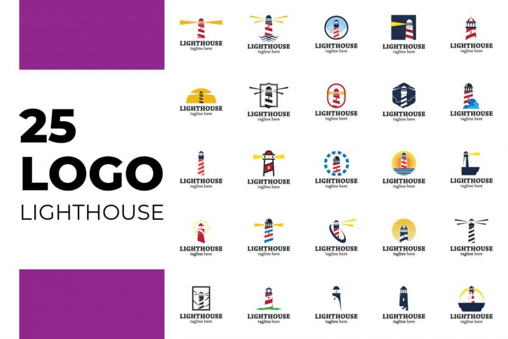 200 Professional Branding Logo Design - LIGHTHOUSE LOGO