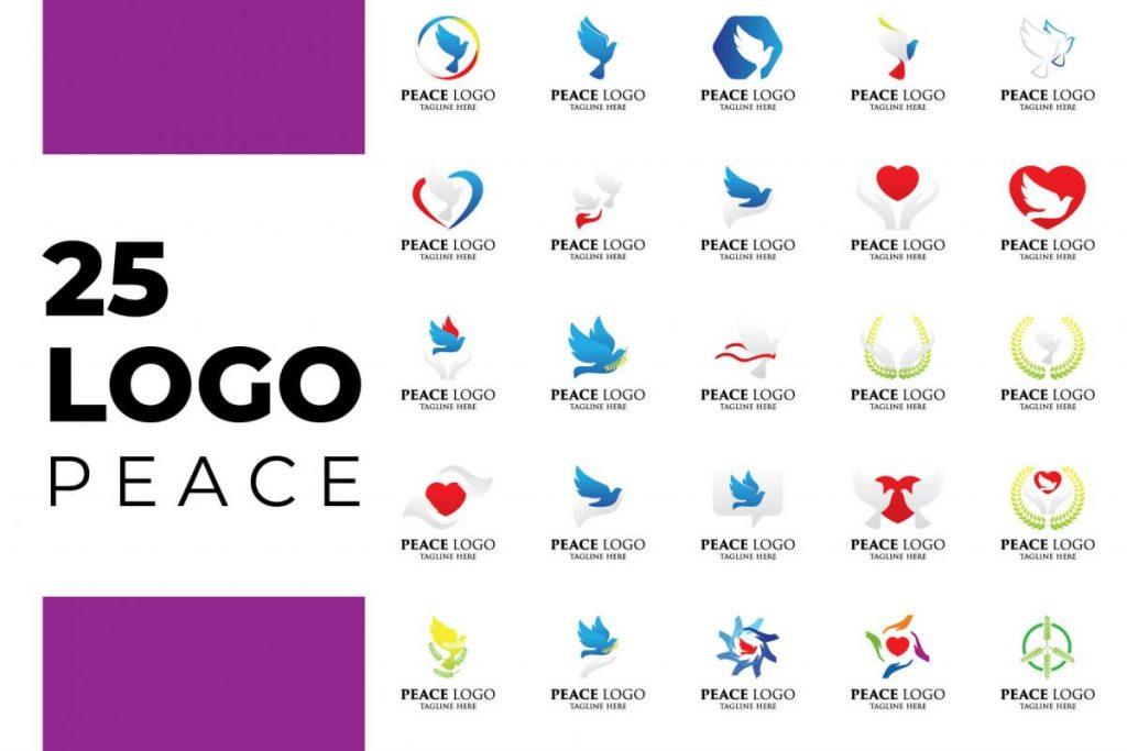 200 Professional Branding Logo Design - PEACE LOGO