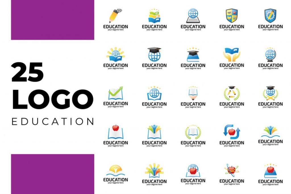 200 Professional Branding Logo Design - School LOGO