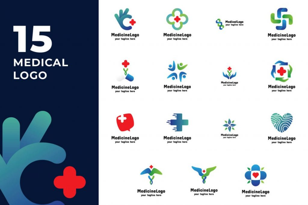 210 Cool & Creative Logo Design Bundle - MEDICAL LOGO