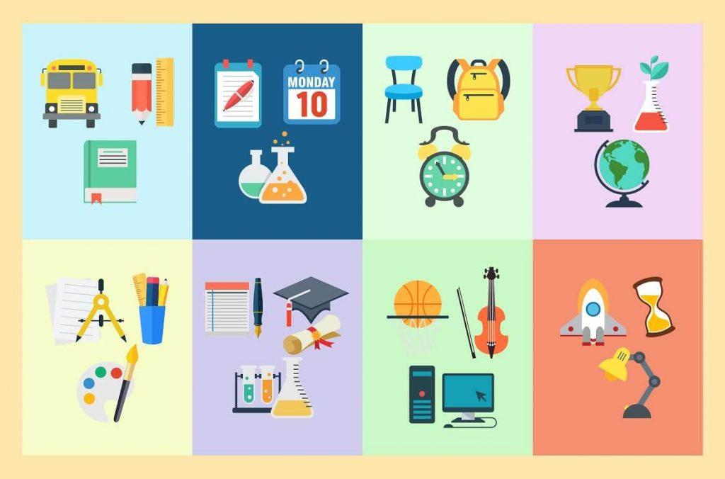 24 Captivating School Clipart Bundle - preview