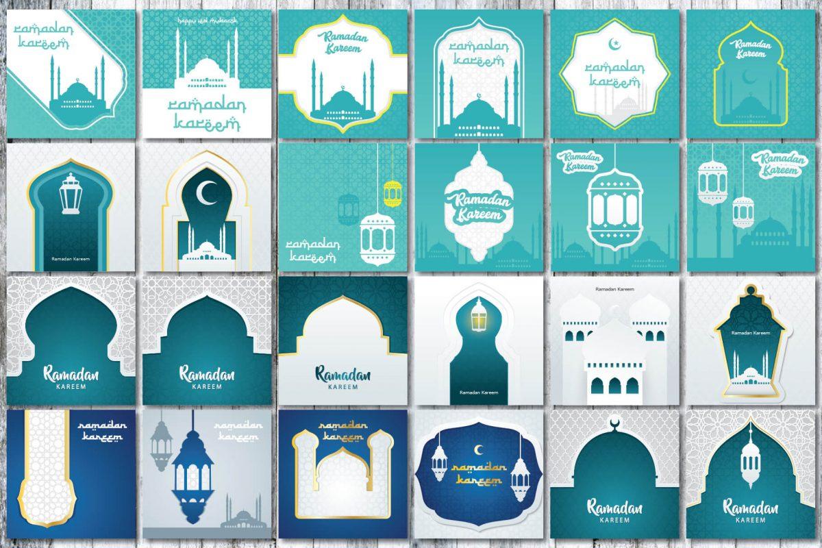 Greeting Card - 90 Ramadan greeting card - preview 3