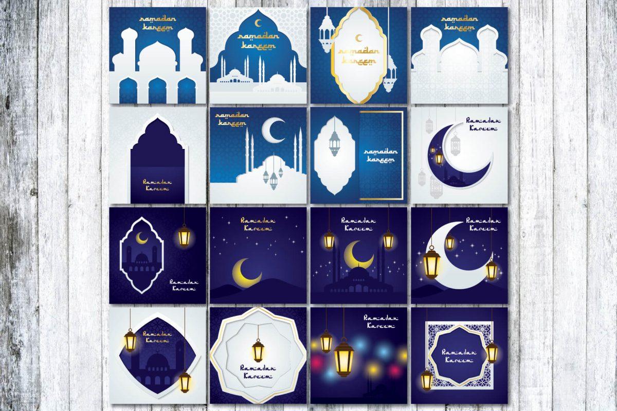 Greeting Card - 90 Ramadan greeting card - preview 4