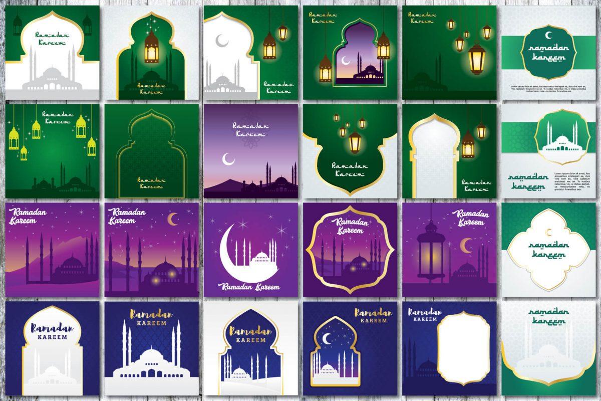 Greeting Card - 90 Ramadan greeting card - preview