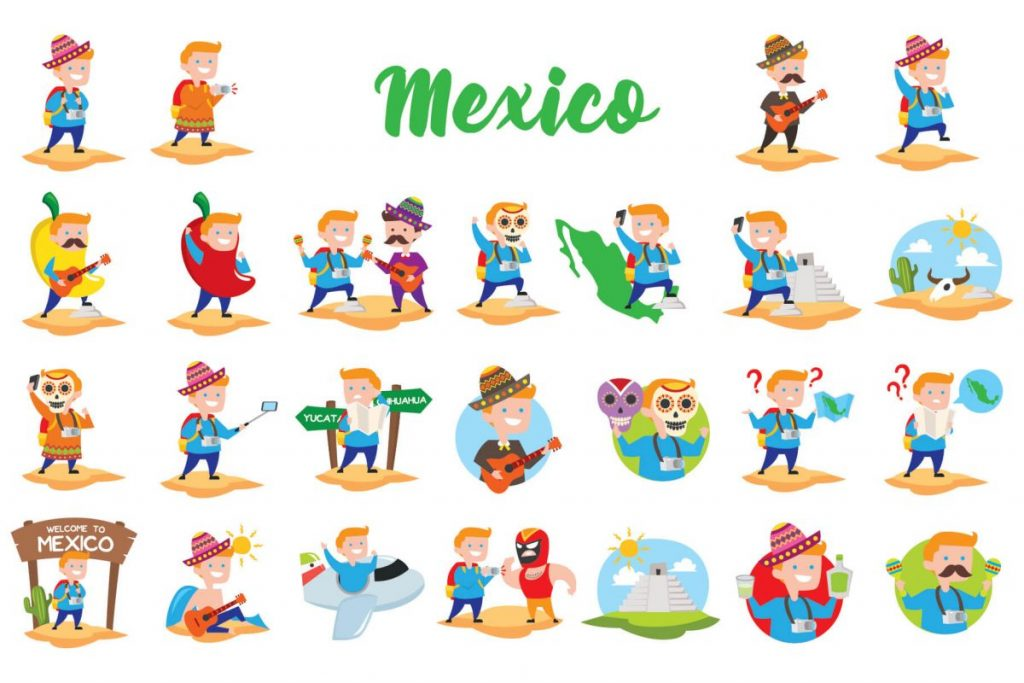 Holiday Clip Art Bundle - MEXICO