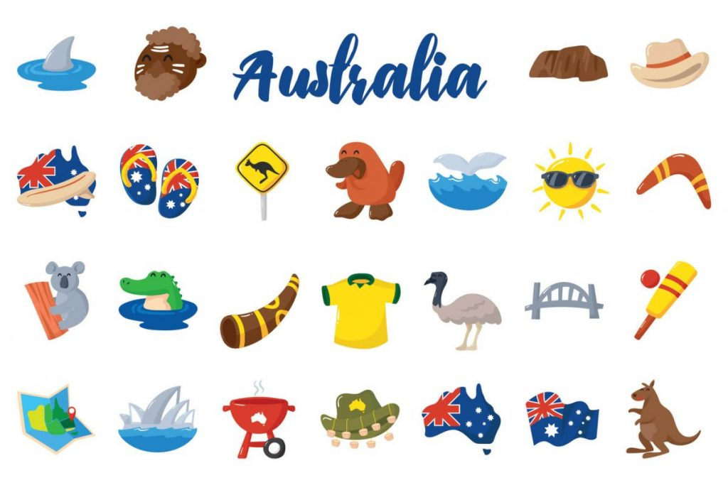 Holiday Clip Art Bundle - australia