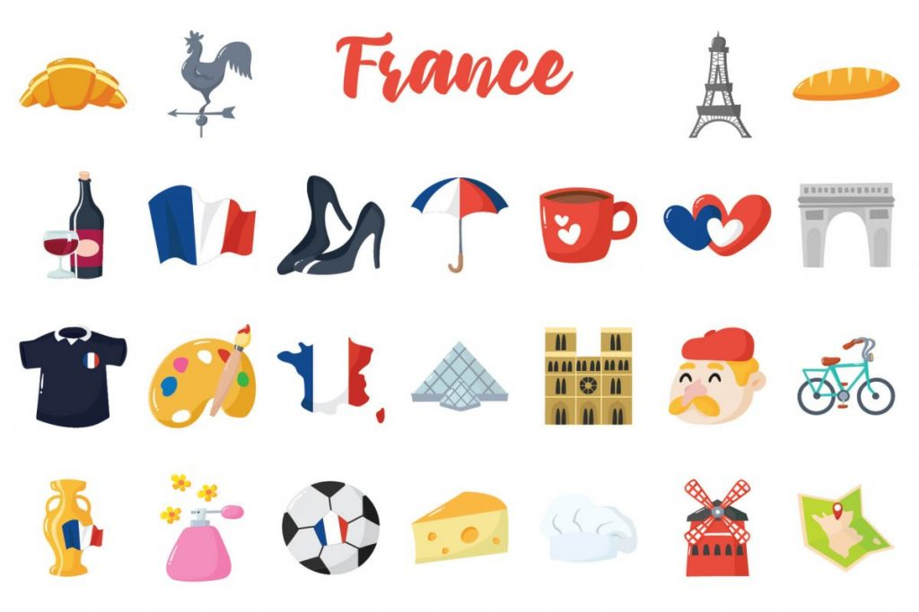 Holiday Clip Art Bundle - france
