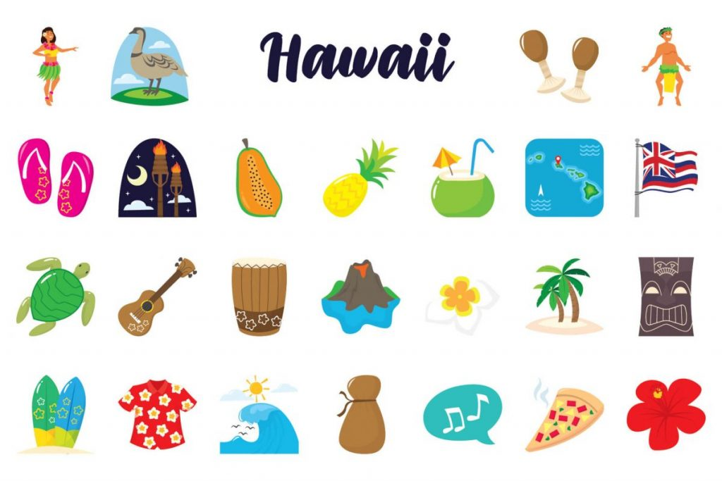 Holiday Clip Art Bundle - hawaii