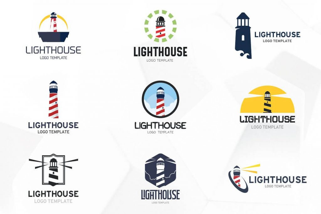 Lighthouse Logo Templates - preview