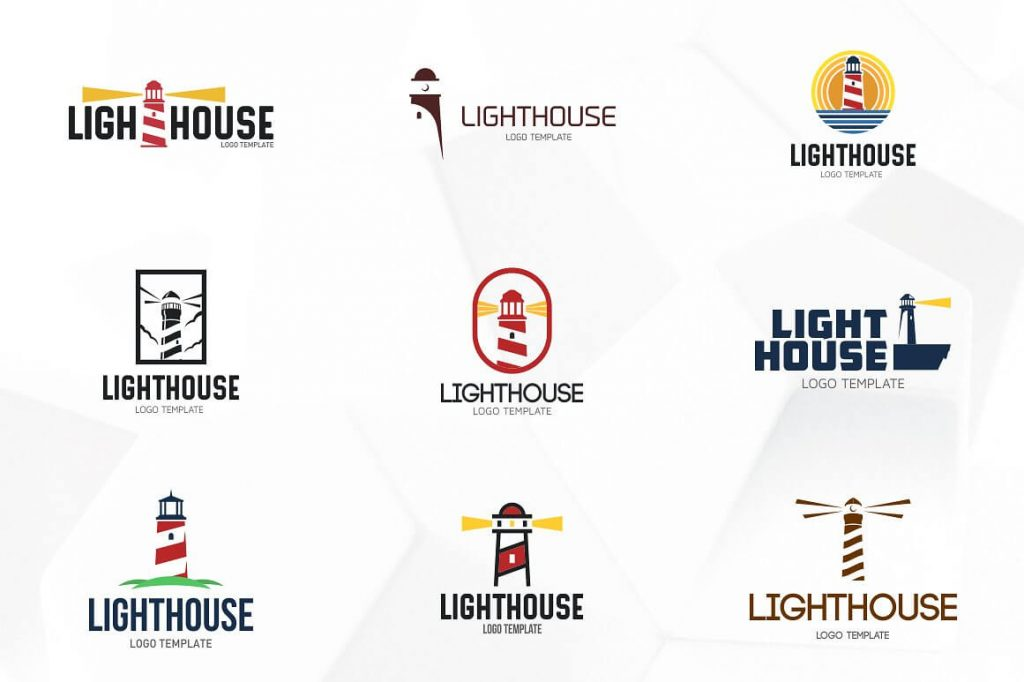 Lighthouse Logo Templates - preview 2