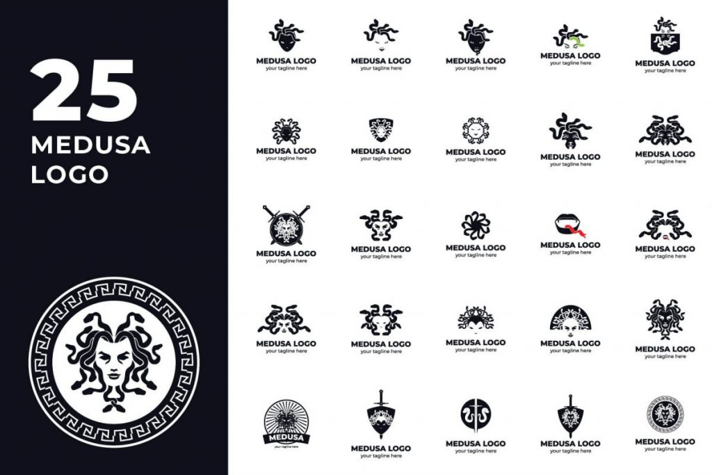 Logo Template Bundle - MEDUSA LOGO