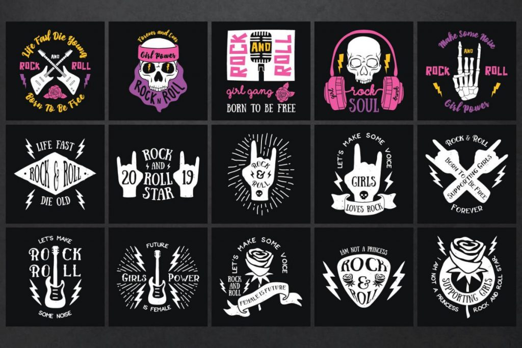 Rock Clipart Bundle - preview 2