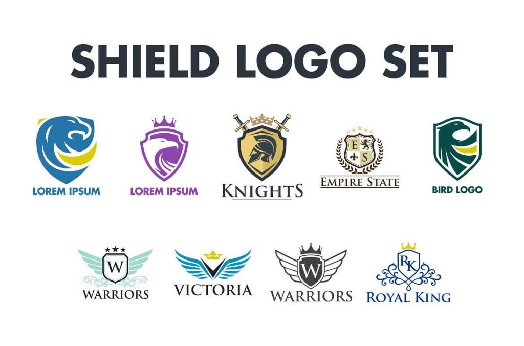 Royal Shield Logo Bundle