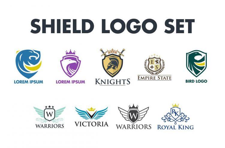 Royal Shield Logo Bundle