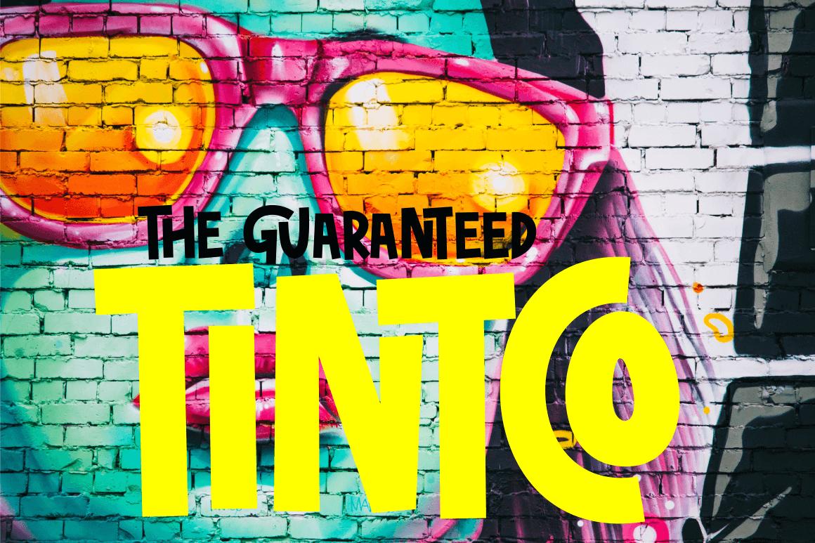 tintco - graffiti font