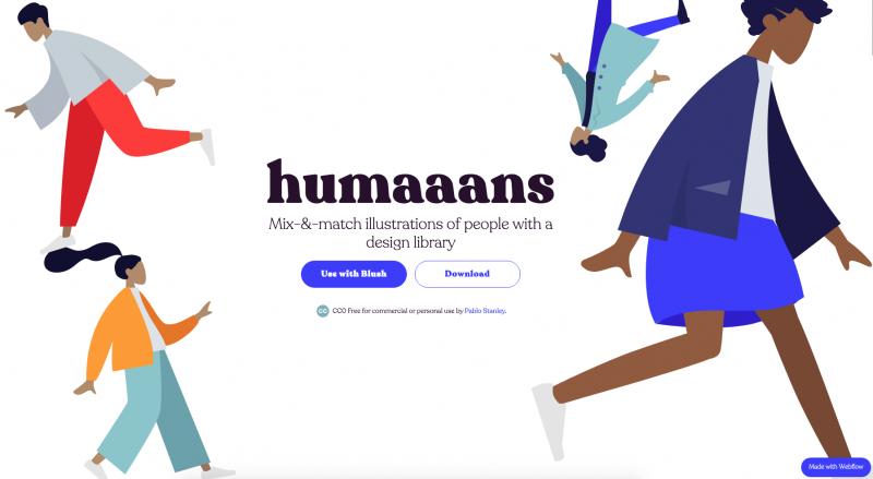 humaaans homepage
