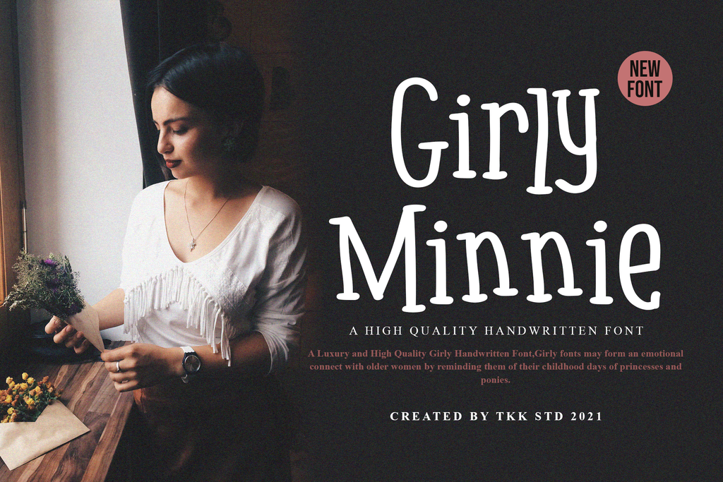girly font